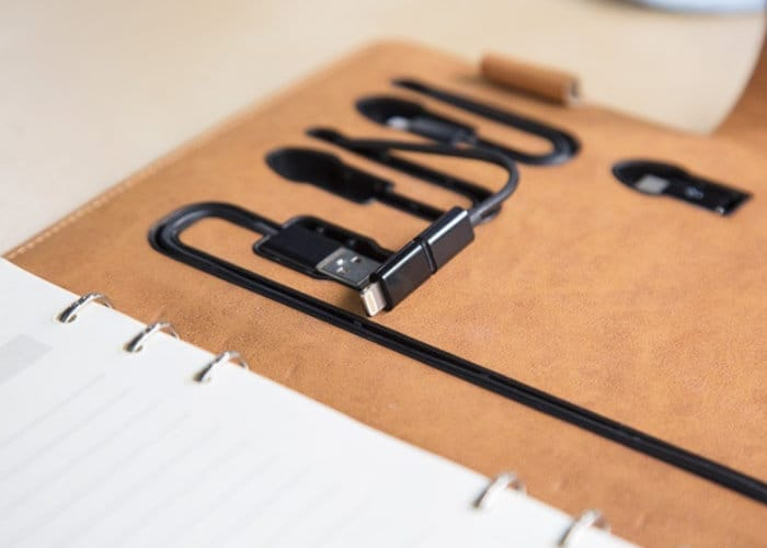 Tesmo Wireless Battery Pack And Notebook Planner