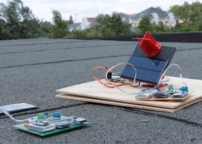 Track The Sun Using Arduino
