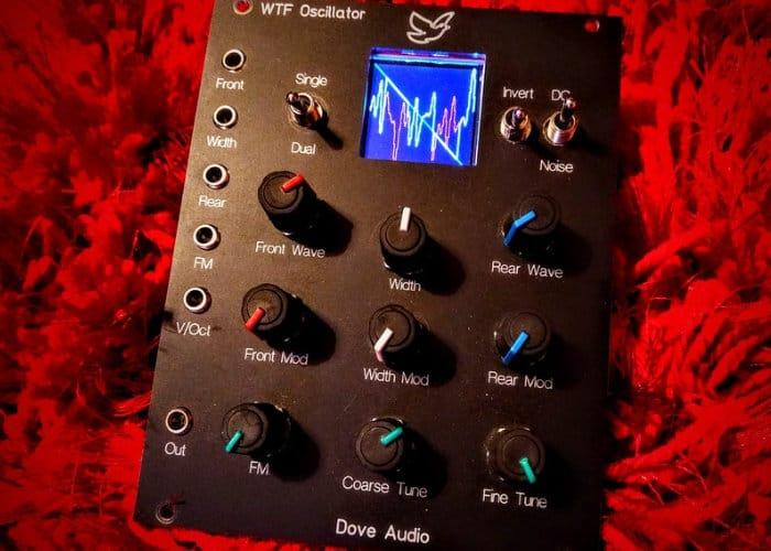 WTF Oscillator Modular Synthesiser