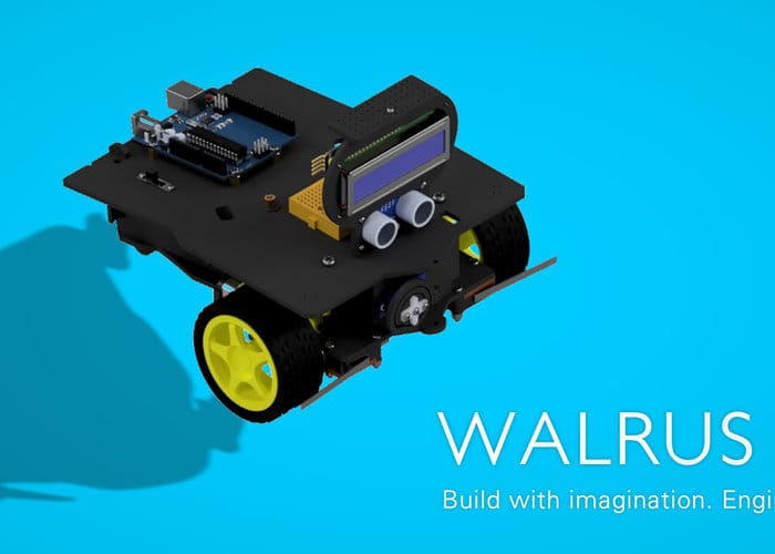 Walrus v1.0 Educational Robot Kit