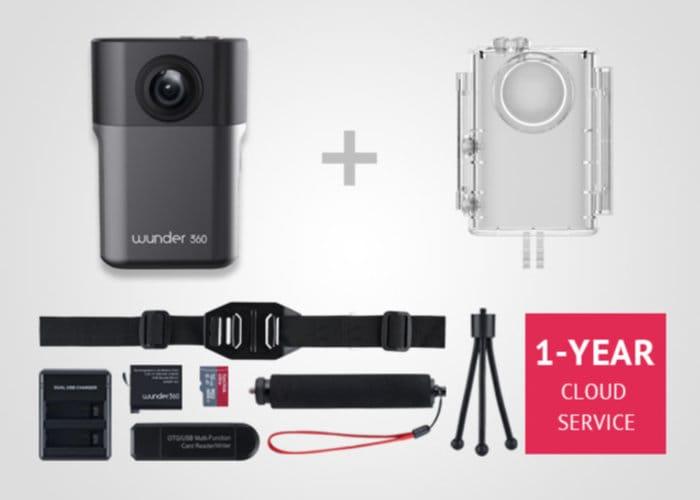 Wunder360 3D Scanning And 360 Camera