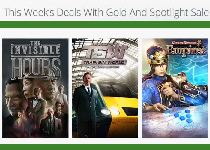 Xbox Deals With Gold And Spotlight Sale This Week