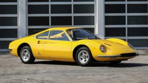 Second Ferrari Dino Prototype Heads to Auction