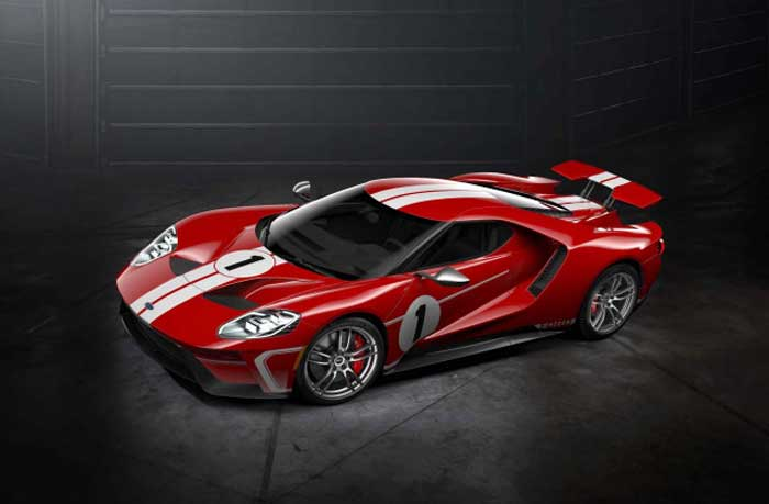 The Slick Ford Gt Is A Car That You Couldnt Just Decide To Buy Even If You Had The Money For It You Had To Apply To Ford And Tell Them What