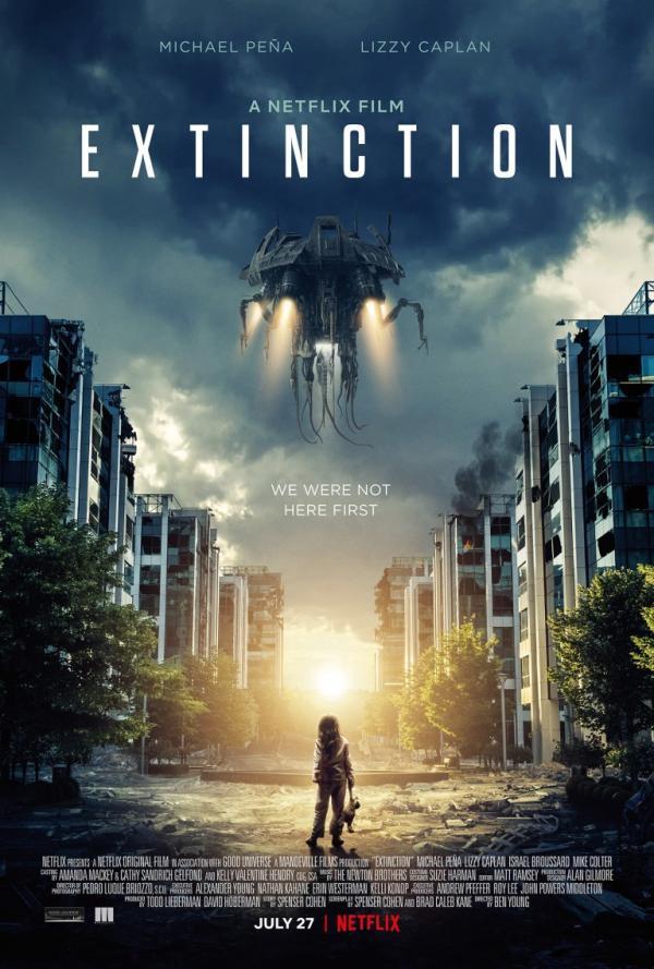 New Netflix Extinction Sci-Fi Movie Premiers July 27th