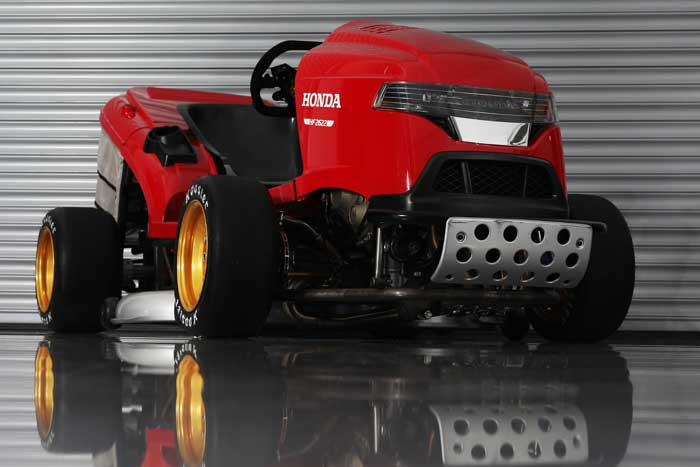 Honda's Insane Mean Mower V2 is a Beast
