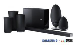 Samsung Adds Deezer To Its Soundbars And Speakers