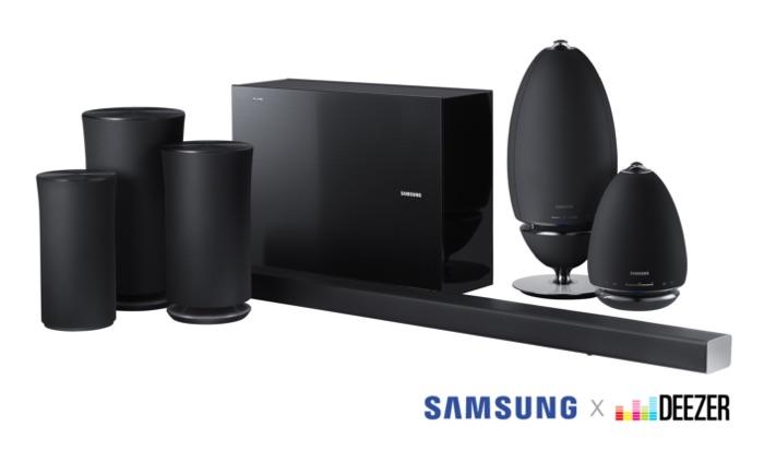 Samsung Adds Deezer