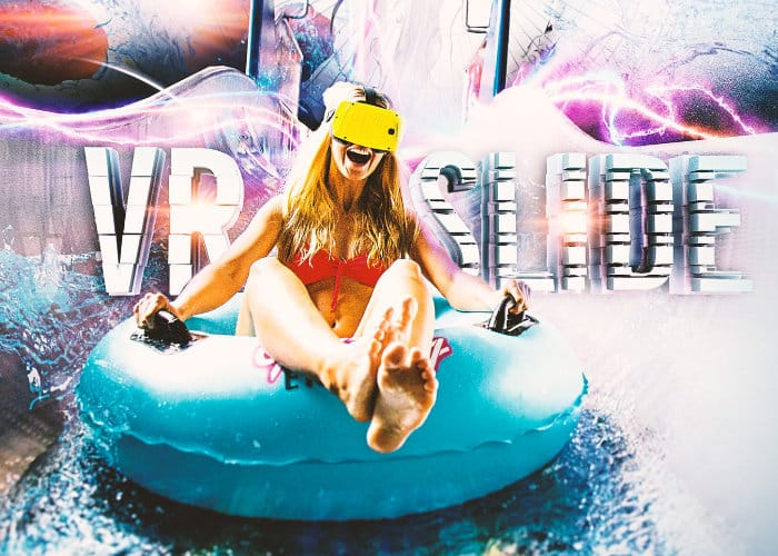 world's first VR water slide