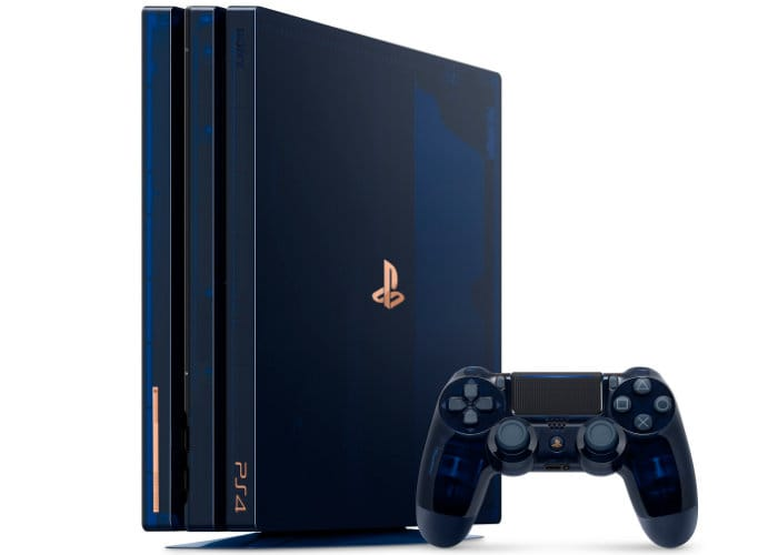 500 Million Limited Edition PS4 Pro