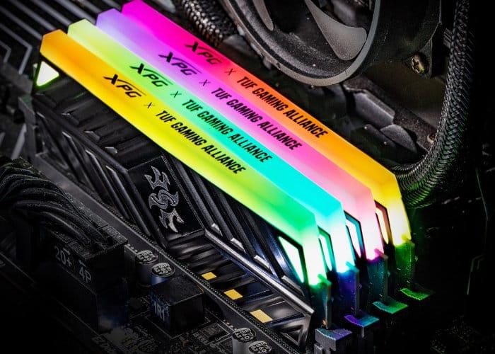 ADATA XPG SPECTRIX D41 TUF Gaming Edition DDR4 RGB Memory