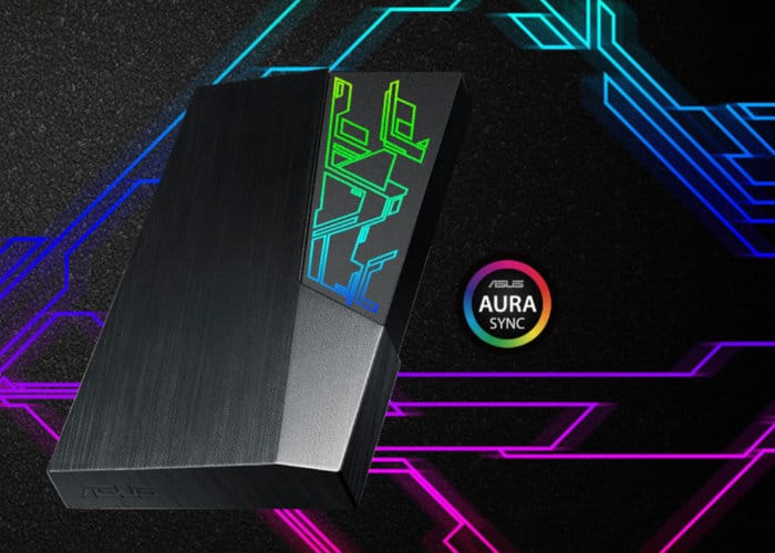 ASUS FX External HDD With AURA Sync RGB Lighting