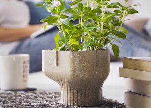 Alphapot Plant Pot Made From Food Waste Hits Kickstarter