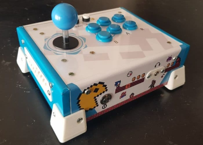 Awesome All-In-One DIY Arcade Console - Geeky Gadgets