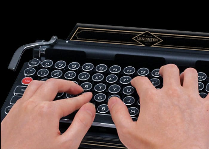 Capcom Resident Evil 2Typewriter keyboard