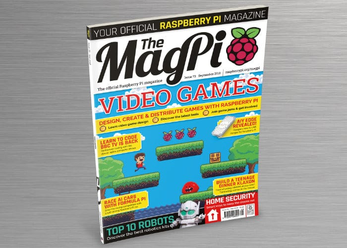 Create Raspberry Pi Video Games