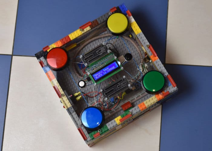 DIY Arduino 4 Button Arcade Game