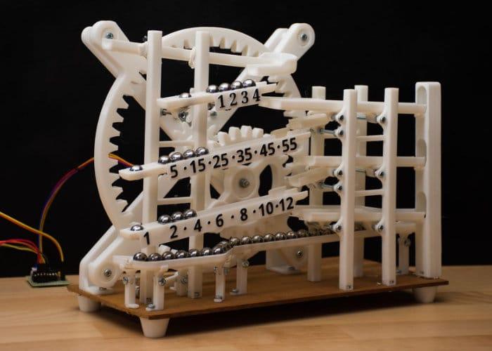 DIY Arduino Marble Clock