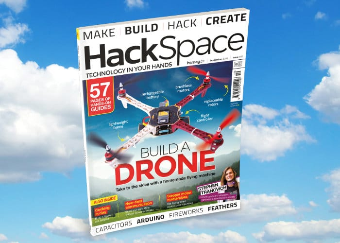 DIY Drone With HackSpace Magazine Issue 10