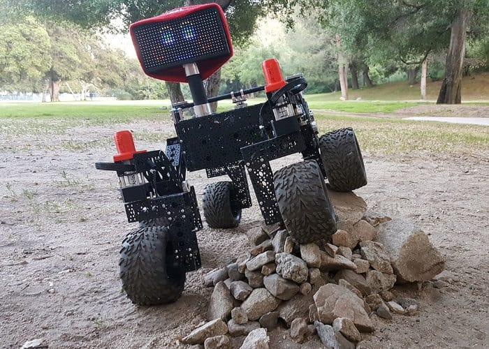 DIY Raspberry Pi NASA Curiosity Rover