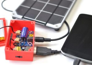 DIY Solar Charger Bag Battery Boost Project