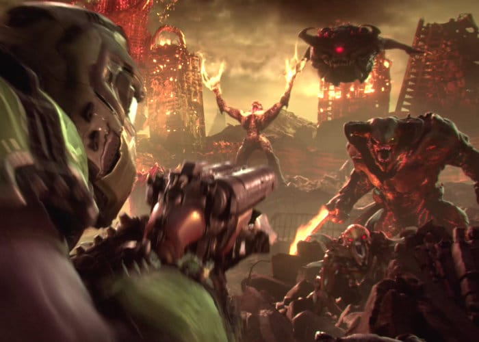 DOOM Eternal Gamescon 2018 Full Reveal Trailers