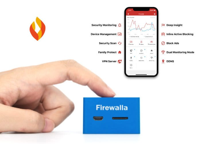 Firewalla Blue Network Firewall Keeps Your Network Safe