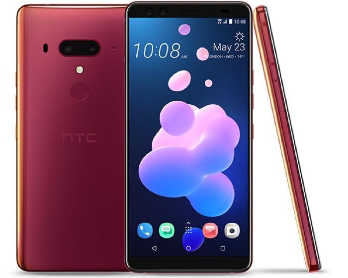 Flame Red HTC U12+