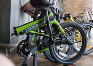 Origami FireFly Carbon Fiber Folding Electric Bike