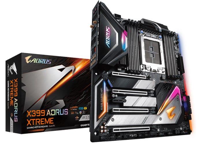 GIGABYTE X399 Aorus Xtreme AMD Threadripper 2