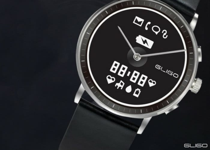 GLIGO Watch One E-Ink Hybrid Smartwatch