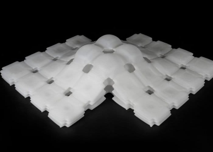 Inflatable 3D Printed Materials