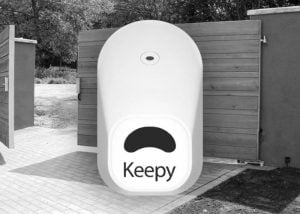 Keepy Smartphone Controlled Keyless Security System For Door And Gates