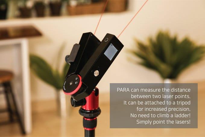 Kickstarter laser measure