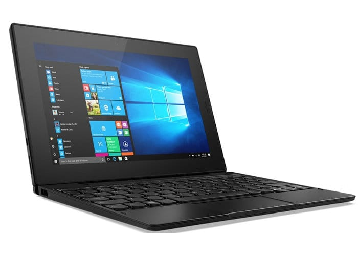 Lenovo Tab 10 Laptop With Gemini Lake CPU