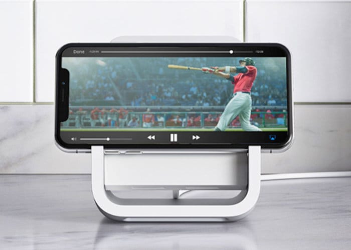 Logitech Wireless iPhone Charger Stand