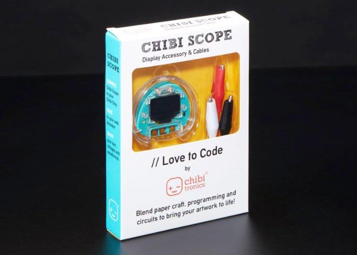 Love To Code Chibi Scope