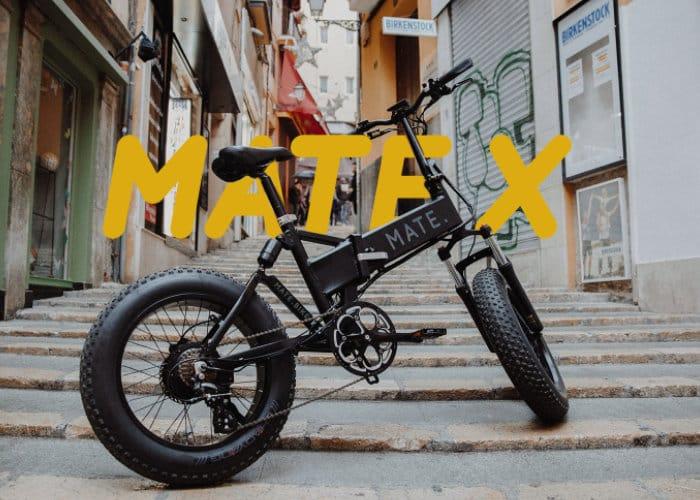 MATE X Folding Bike
