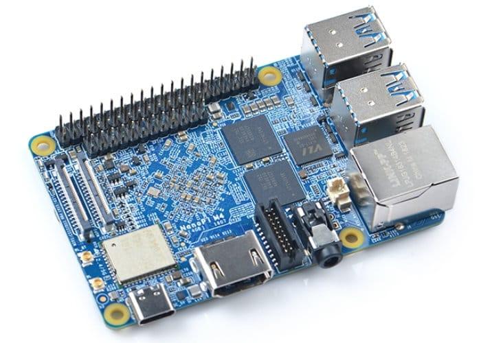NanoPi M4 RK3399 Mini PC