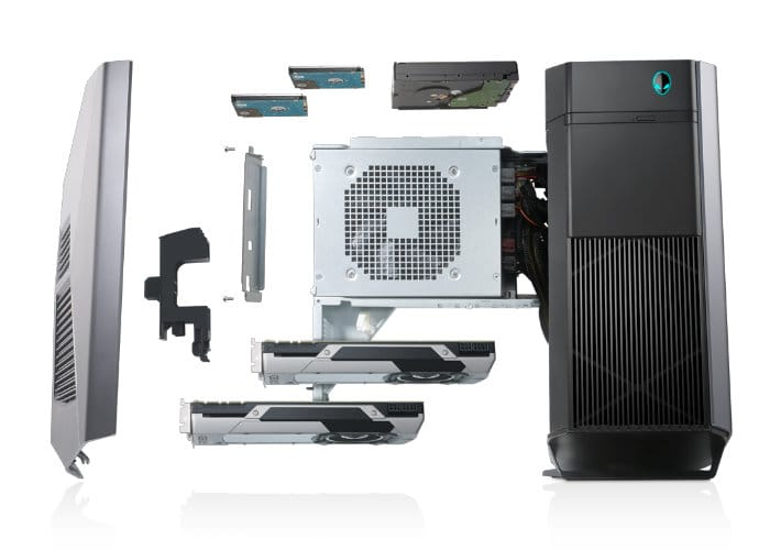 New Alienware Gaming PS Systems