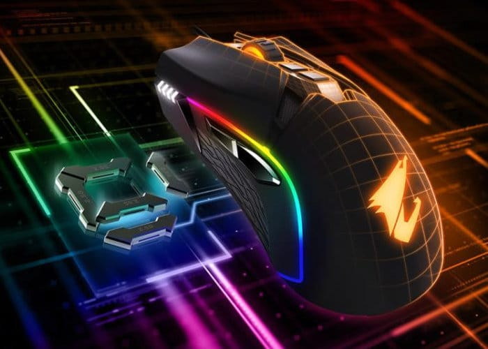 New Gigabyte Aorus M5 RGB Gaming Mouse