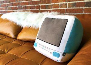 Nostalgic Retro Apple Hardware Pillows
