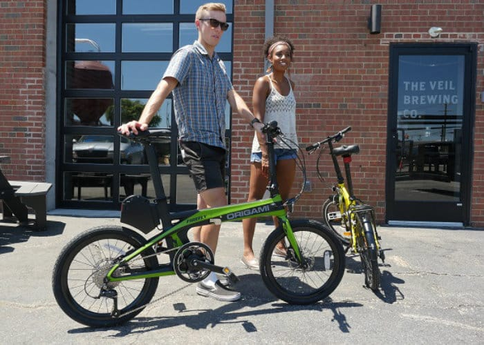 Origami FireFly Carbon Fiber Folding Electric Bike