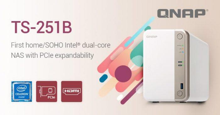 QNAP Intel Dual-core TS-251B SOHO NAS