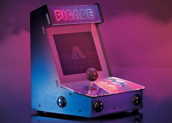 Raspberry Pi Desktop Arcade