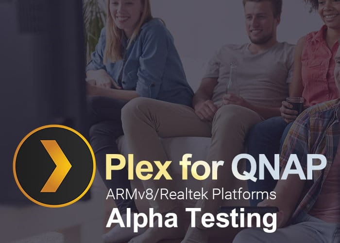 Plex Supported By New QNAP