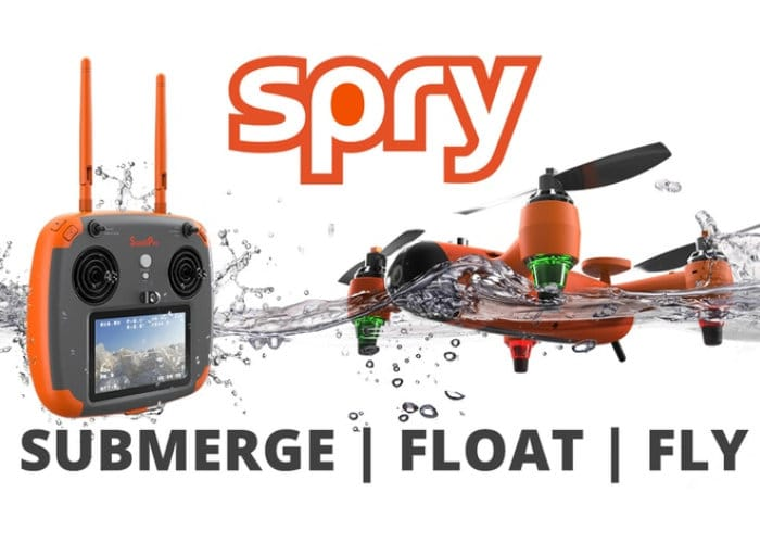 SPRY Waterproof Submersible Flying Drone