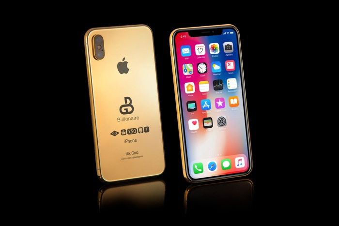 Solid Gold 2018 iPhone X