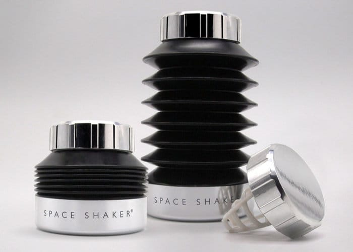 Space Shaker Collapsible Shaker Bottle
