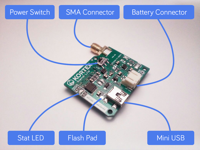 Kortex Xtend LiteSmall Battery Powered WiFi Repeater